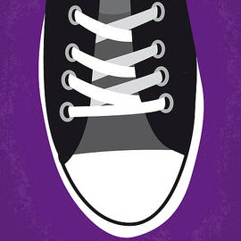 No610 My Footloose minimal movie poster - Chungkong Art