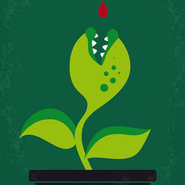 No611 My Little Shop of Horrors minimal movie poster - Chungkong Art