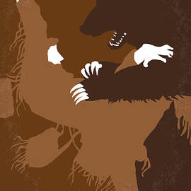 No623 My The Revenant minimal movie poster - Chungkong Art