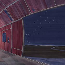 Nocturnal Barnscape - Scott Kirby