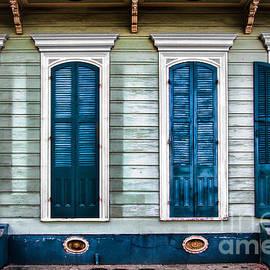 Jarrod Erbe - NOLA Red and Blue Doors