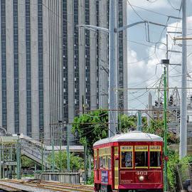 Kathleen K Parker - Nola Red Streetcar Riverfront 3