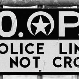 Kathleen K Parker - NOPD Police Barrier
