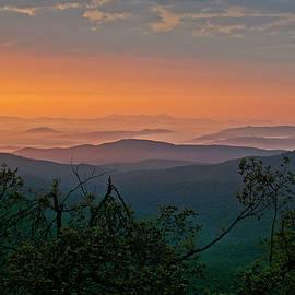 Ulrich Burkhalter - North Carolina mountain morning