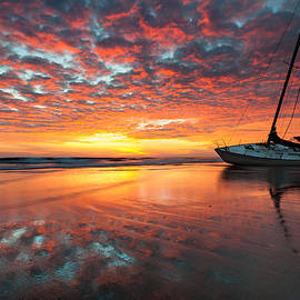 Mark VanDyke - North Carolina Outer Banks Cape Hatteras National Seashore Shipwreck Sunrise