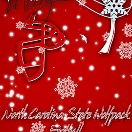 NORTH CAROLINA STATE WOLFPACK CHRISTMAS CARD - Joe Hamilton