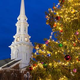 Dawna Moore Photography - North Church at Christmas, Portsmouth, New Hampshire