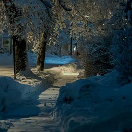 Jonathan Ramsdell - North Street Sidewalk Night