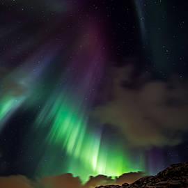 Ennio Pozzetti - Northern Lights at Torsfjorden Lofoten