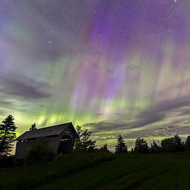 John Vose - Northern Lights Cabot Vermont