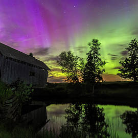 John Vose - Northern Lights Reflection