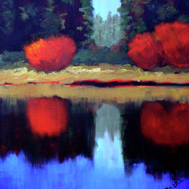 Nancy Merkle - Northwest River Landscape