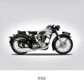 Norton ES2 1951 - Mark Rogan