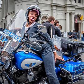 Kathleen K Parker - Not-A-Cop in Jackson Square NOLA