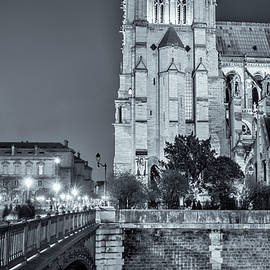 Joan Carroll - Notre Dame Cathedral Paris Night
