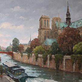 Alexander Alexandrovsky - Notre-Dame de Paris. Seine