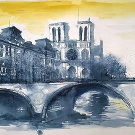 Lorand Sipos - Notre Dame view