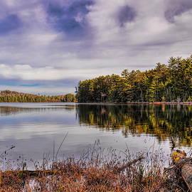 Dale Kauzlaric - November Day on Clear Lake