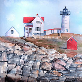 Arline Wagner - Nubble Lighthouse - Maine
