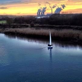 Skulova Katka - #nuclear Power #sunset #warrington
