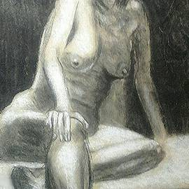 Gerald Ziolkowski - Nude in shadow and light