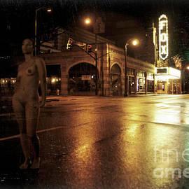 Christopher Buck - Nude, on Peachtree Street