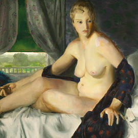 Nude with Fan - George Bellows