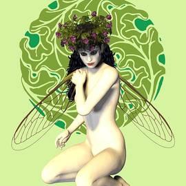 Quim Abella - Nymph Art Nouveau