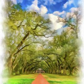 Steve Harrington - Oak Alley 7 - Paint Vignette
