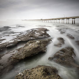 William Dunigan - Ocean Beach Pier High Tide