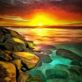 Catherine Lott - Ocean Lit In Ambiance