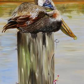 Phyllis Beiser - Ocean Springs Pelican