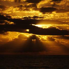 Cindy Treger - Outer Banks Rodanthe, NC Golden Sunrise B