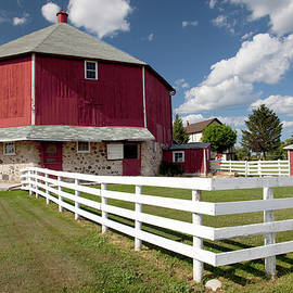 George Sanquist - Octagon Barn and Fence