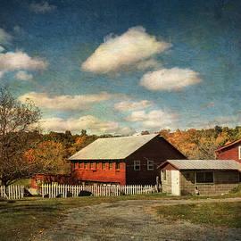 Pamela Phelps - October rising on the Barn