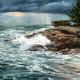 Eileen Patten Oliver - October Storm Plum Cove