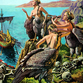 Odysseus and the Sirens - English School