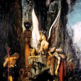 Gustave Moreau - Oedipus the Wayfarer