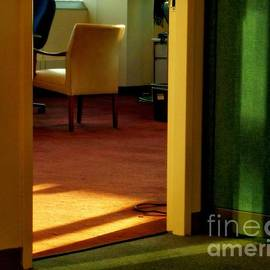Miriam Danar - Office After-Hours - Yellow Chair No. 5 - New York City Interiors