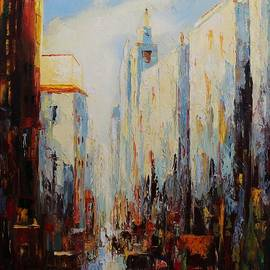 Mario Sergio Calzi - Oil MSC 059