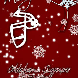 OKLAHOMA SOONERS CHRISTMAS CARD - Joe Hamilton