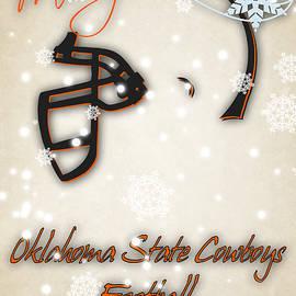 OKLAHOMA STATE COWBOYS CHRISTMAS CARD - Joe Hamilton