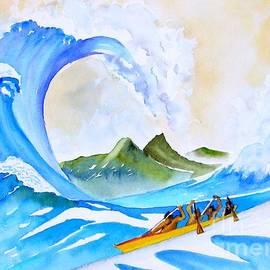 Sue Roach - Olamana ala Hokusai