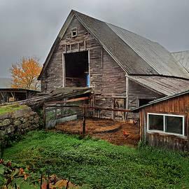Nancy Griswold - Old Barn in Bradford Vermont