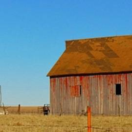Honey Behrens - Old Barn, Old Silo, Old Windmill