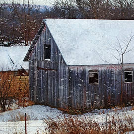 Anna Louise - Old Barns in Snow