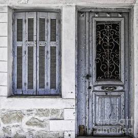 Antony McAulay - Old Blue Door and Window