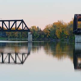 Teresa Zieba - Old Bridge Reflections