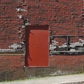 Bill Tomsa - Old Building New Red Door