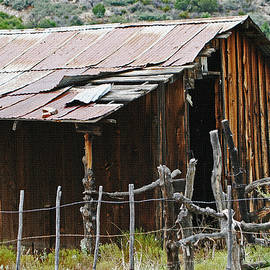 Tom Janca - Old Cabin At Bull Canyon Arizona